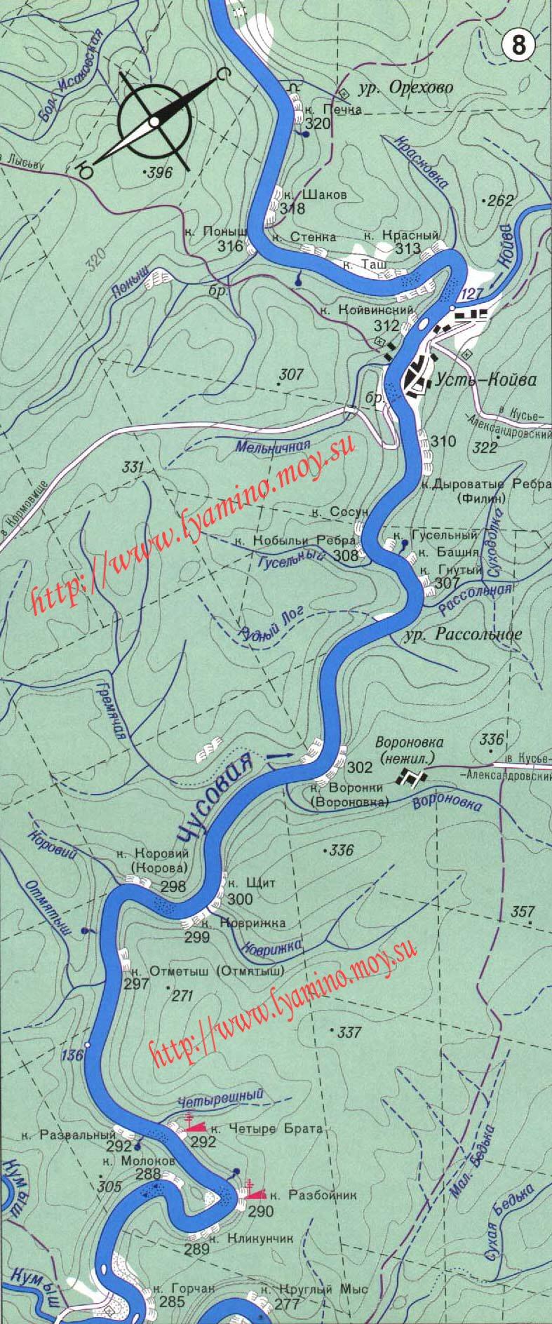 реки для рыбалки где мало населенных пунктов
